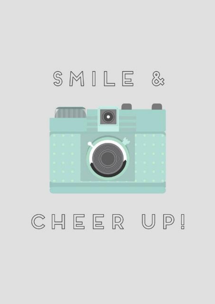Smile & Cheer Up! - CardCraft