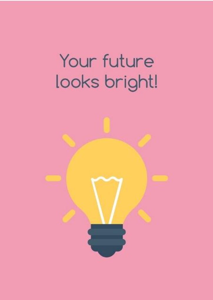 Your Future Looks Bright! - CardCraft