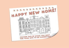 Happy New Home! New Home Greeting Card - CardCraft