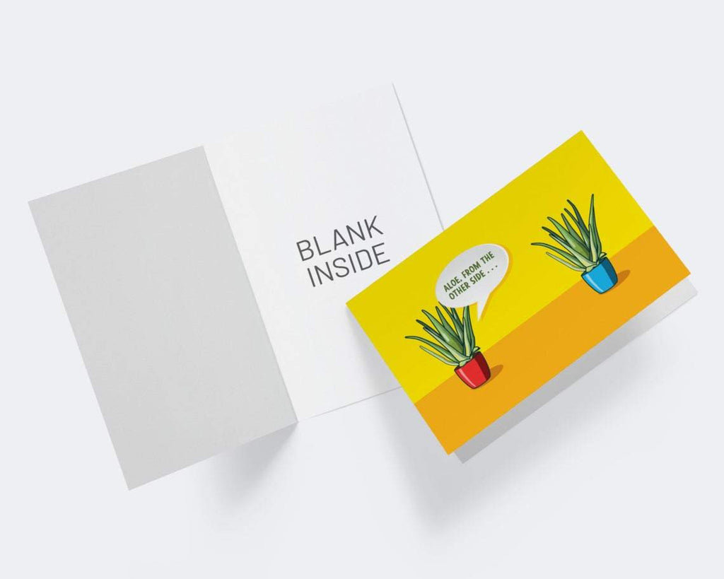 Aloe..how are you? Thinking Of You Greeting Card - CardCraft