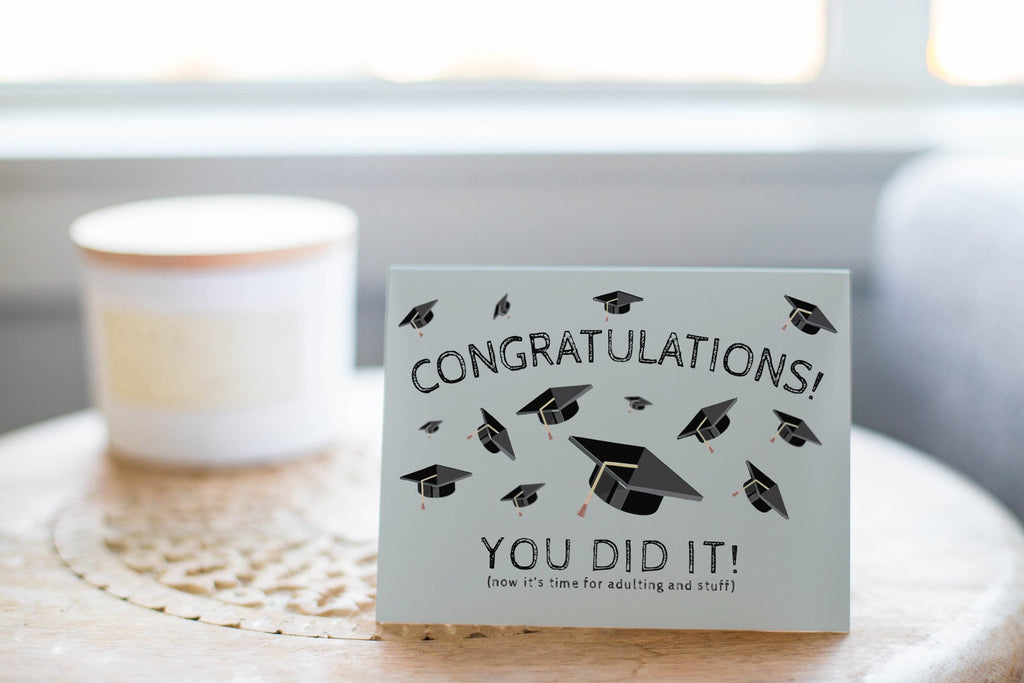 Congratulations, You Did It! - Greeting Card - CardCraft