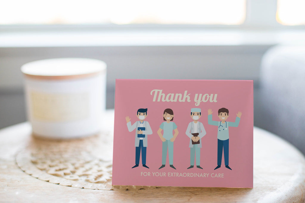Thank You For Your Extraordinary Care - Frontline Workers Card - CardCraft