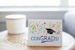 Congrads! Congratulations Graduation Greeting Card - CardCraft