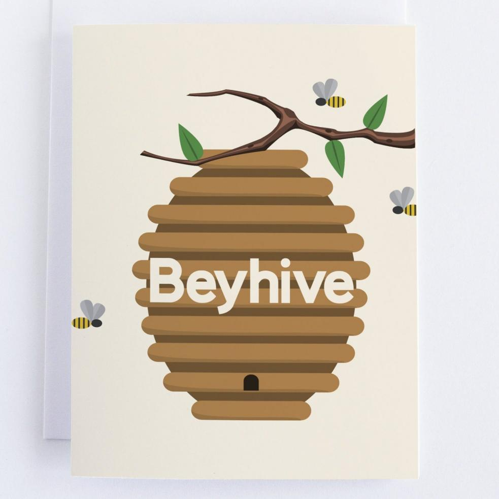 Beyonce Cards: Beyhive Beyonce  Thinking Of You Greeting Card - CardCraft