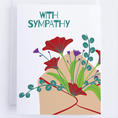With Sympathy - CardCraft