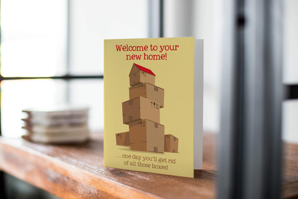 Welcome To Your New Home Card! Congratulations Greeting Card - CardCraft