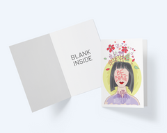 Women's Day Greeting Card - Be Brave Greeting Card