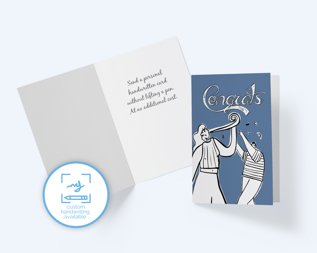 Congrats, Congratulations Card Greeting Card - CardCraft