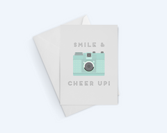 Smile & Cheer Up! - Thinking Of You Greeting Card