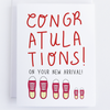 Congratulations On Your New Arrival Greeting Card - CardCraft