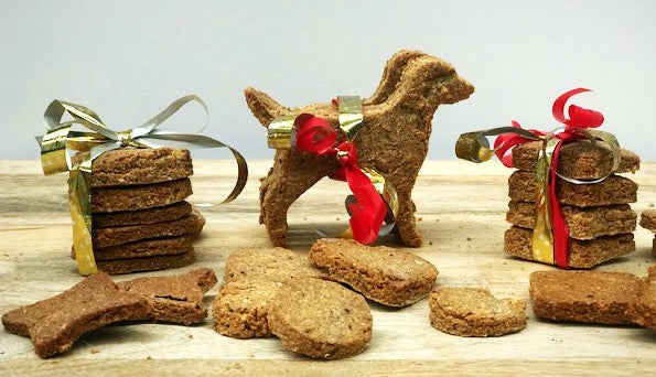 Nut Butter Superfood Dog Cookies