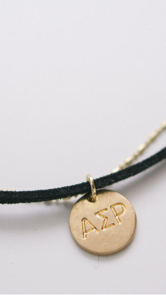 Alpha Sigma Rho Choker Necklace