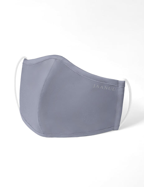 Reusable Antimicrobial Face Mask - Grey (Adult)