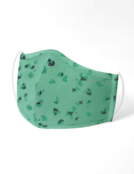 Reusable Antimicrobial Face Mask - Mint Pebble (Adult)