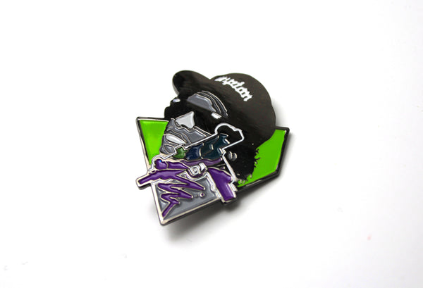 Eazy-E Pin by Pony Lawson x Sloth Steady