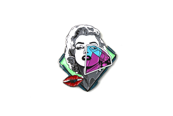 Marilyn Monroe Pin by Pony Lawson x Sloth Steady
