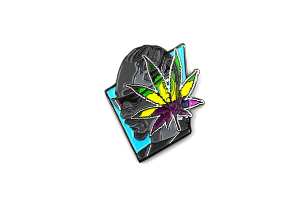 Weed Everyday Pin by Pony Lawson x Sloth Steady
