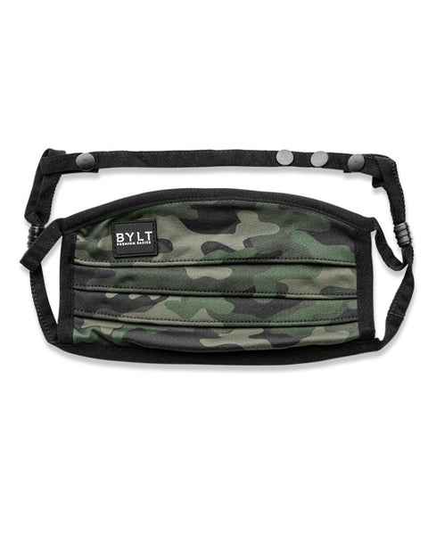 BYLT Reusable Mask - Camo