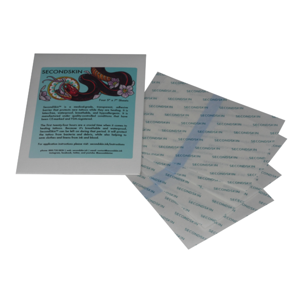 "SecondSkin - 4 Pack - 5"" x 7"""
