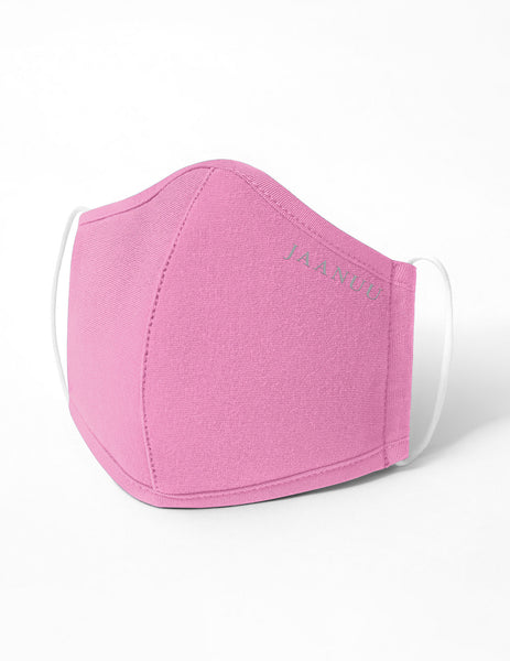 Reusable Antimicrobial Face Mask - Pink (Child)