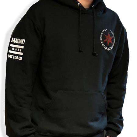 Mayday Tattoo Co Pullover Hoodie