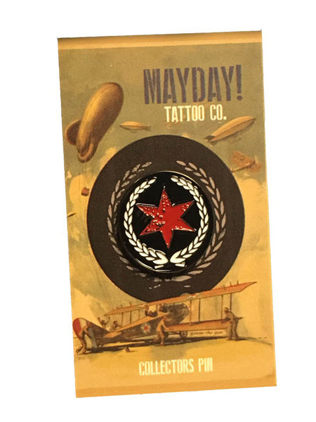 Official Mayday Tattoo Co Pin
