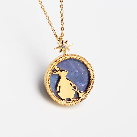 Alice in Wonderland The White Rabbit Necklace-Seven Season