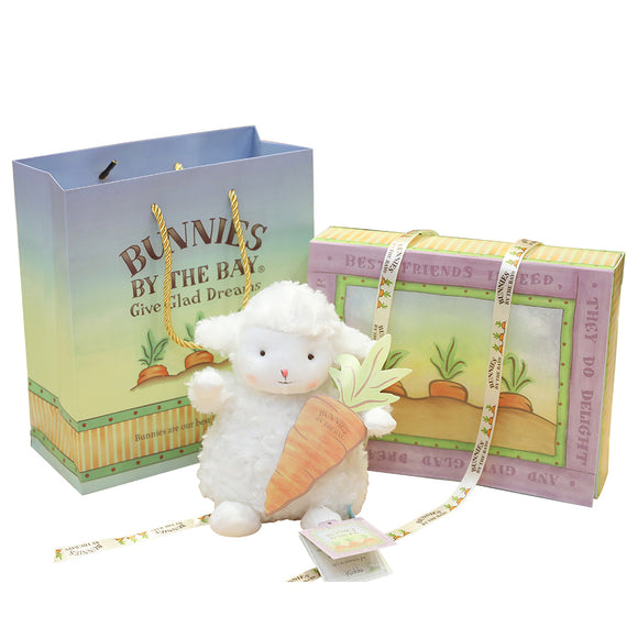 Bunnies By The Bay Wee Kiddo the Lamb with Gift Box-Seven Season