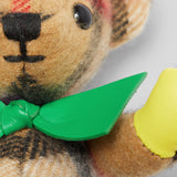 Burberry Thomas Bear in Rainbow Vintage Check Cashmere Key Charms-Seven Season
