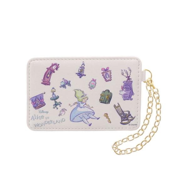 COLORS By Jennifer Sky Alice in Wonderland Ivory and Morning Dawn Card Case-Seven Season