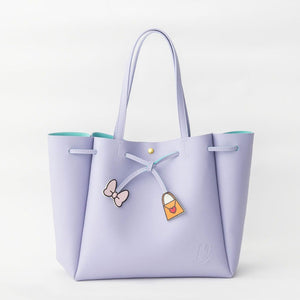COLORS By Jennifer Sky Daisy Bow and Bag Tote Bag-Seven Season