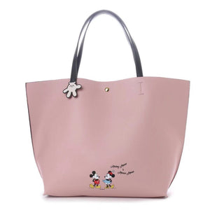 COLORS By Jennifer Sky Mickey Mouse and Minnie Mouse Tote Bag-Seven Season