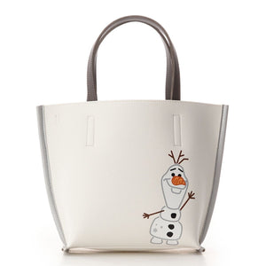 COLORS & chouett Frozen Olaf White Tote-Seven Season