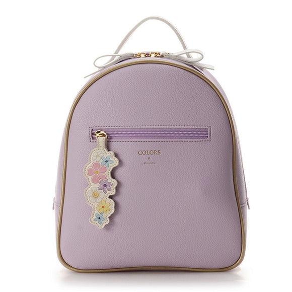 COLORS & chouett Tangled Rapunzel Magical Flowers Lavender Backpack-Seven Season