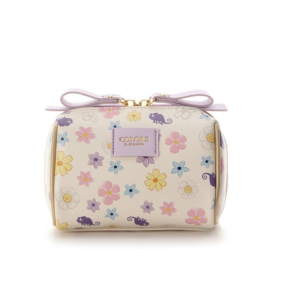 COLORS & chouett Tangled Rapunzel Magical Flowers and Pascal Pouch-Seven Season