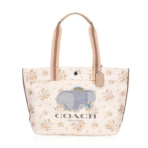 Coach Disney Dumbo Chalk Canvas Tote-Seven Season