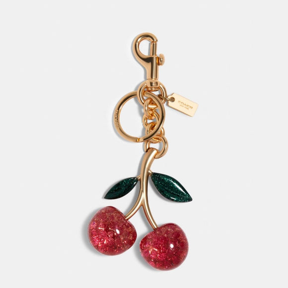 Coach Pink Cherry Bag Charm-Seven Season