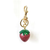 Coach Strawberry Bag Charm-Seven Season