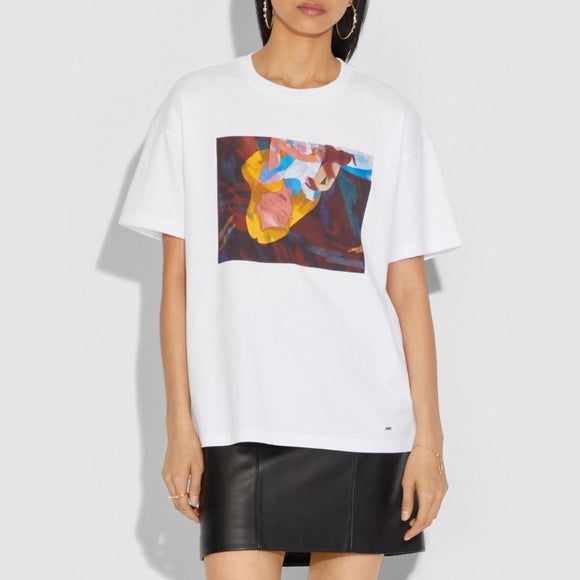 Coach Disney Alice Oversized T-Shirt-Seven Season