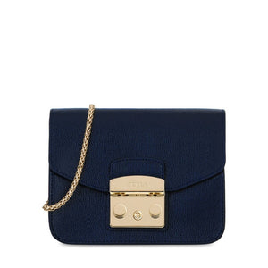 Furla Metropolis Mini Crossbody Blu D Bag-Seven Season