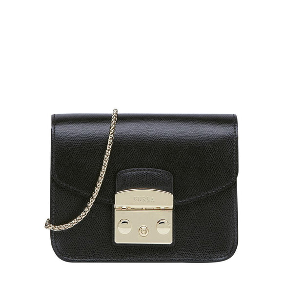 Furla Metropolis Mini Crossbody Onyx Bag-Seven Season
