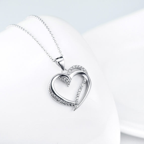 Heart to Heart Pendant Necklace