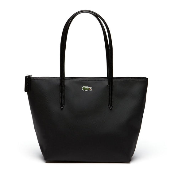 Lacoste Women's L.12.12 Small Black Tote Bag-Seven Season