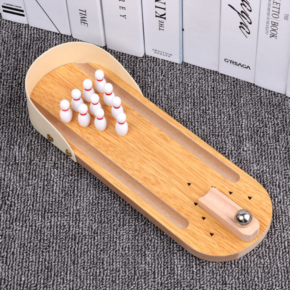 Mini Desktop Bowling Game Anxiety Relief Toy -Seven Season