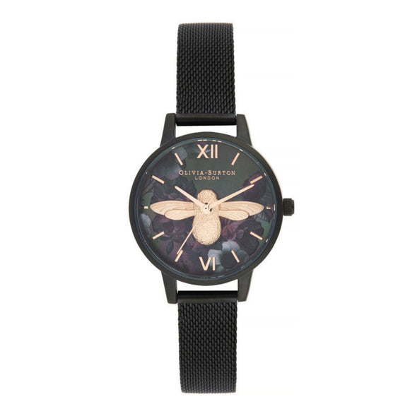 Olivia Burton 3D Bee After Dark Midi Dial Watch-Seven Season