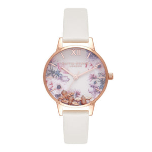 Olivia Burton Busy Bees Nude and Rose Gold Watch-Seven Season