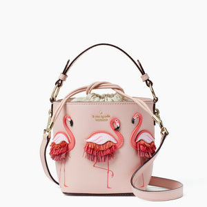 Seven Season By the Pool Flamingo Pippa Bucket Bag kate spade new york