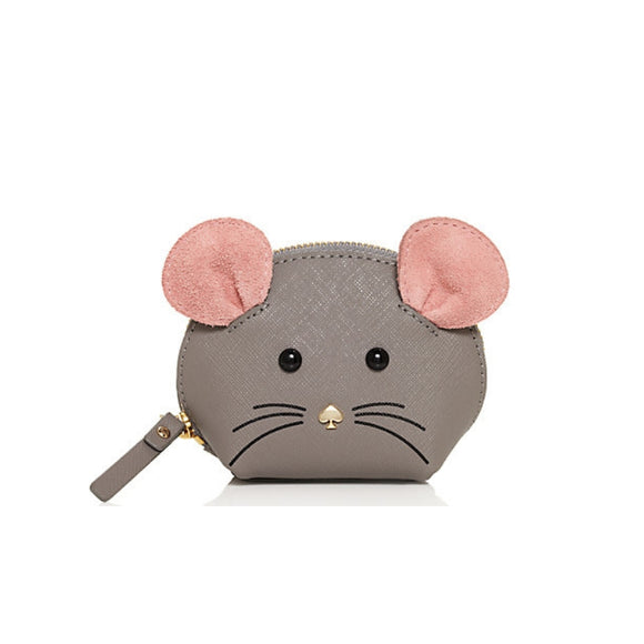 Seven Season Cat's Meow Mouse Coin Purse