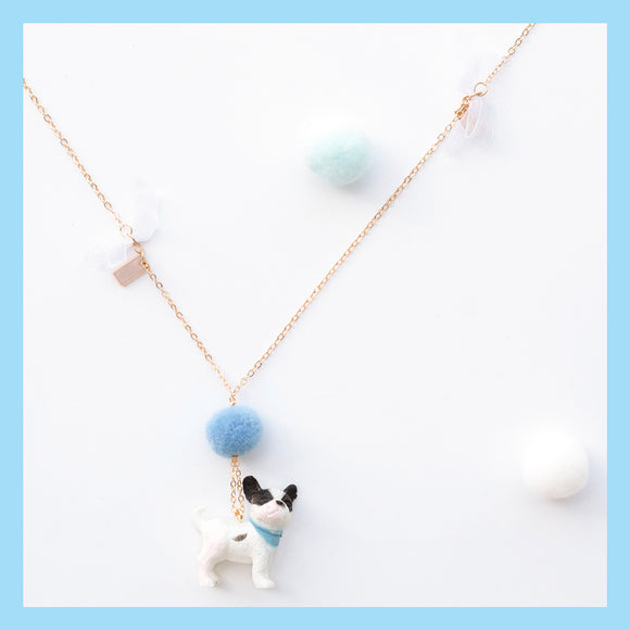 Seven Season Cute and Cuter Proud Chihuahua Pendant Necklace