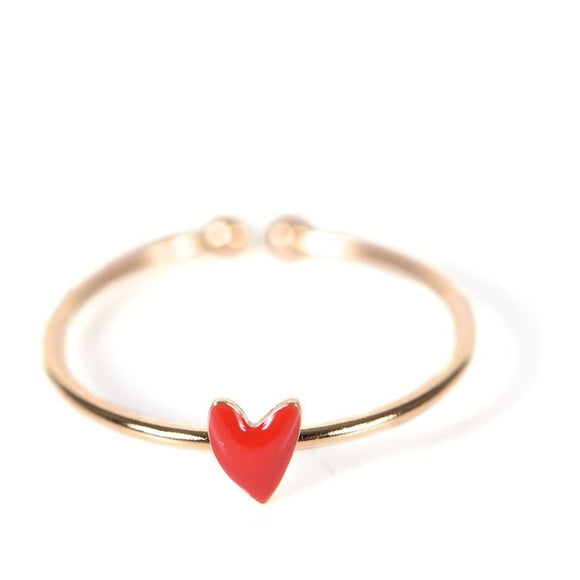 Seven Season Grant Poppy Red Heart Ring